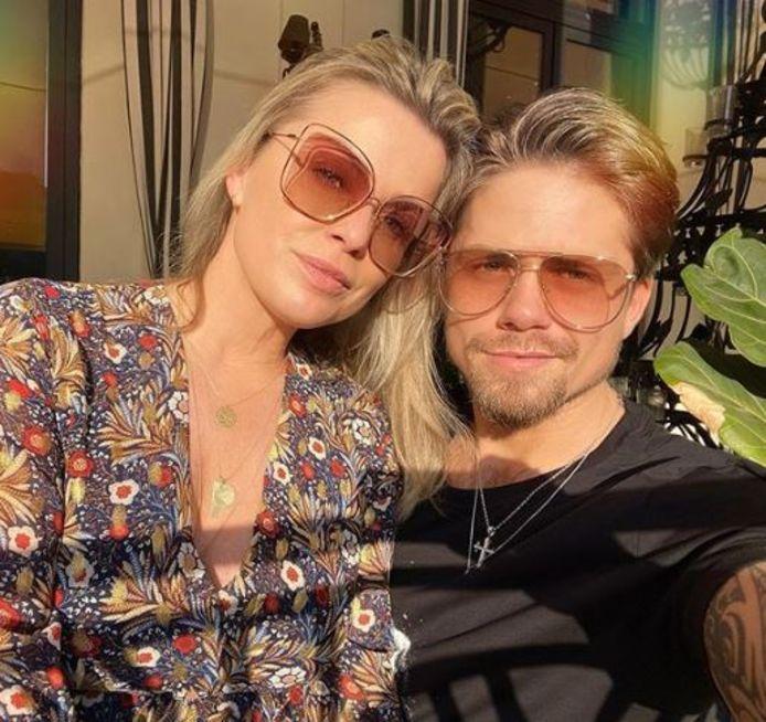 Bridget en André deelden veel liefdesfoto's op social media.