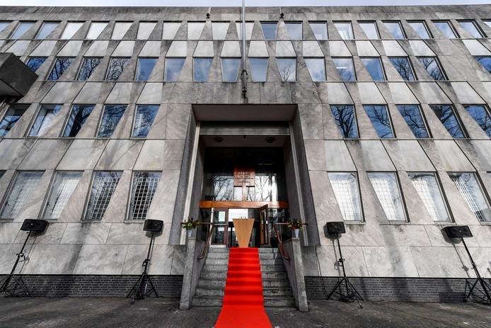 Het voormalige gebouw van de Amerikaanse ambassade is sinds vorige week weer van Nederland.