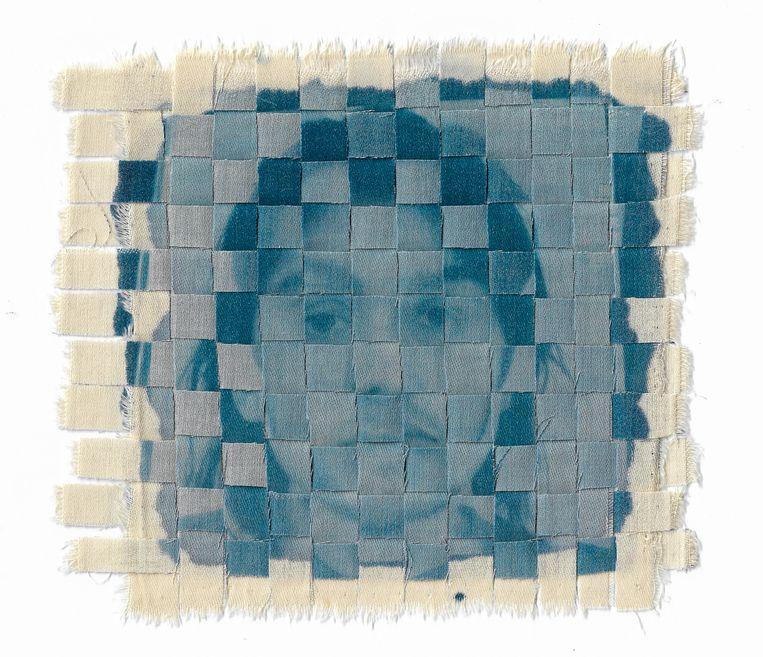 De Schotse kunstenaar Connie Stewart (25) gebruikte voor deze foto's een kunstmatige intelligentie om realistische nepbeelden van mensen te maken.  Beeld Connie Stewart