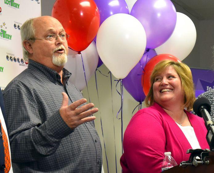 Lisa en John Robinson uit Munford (Tennessee).