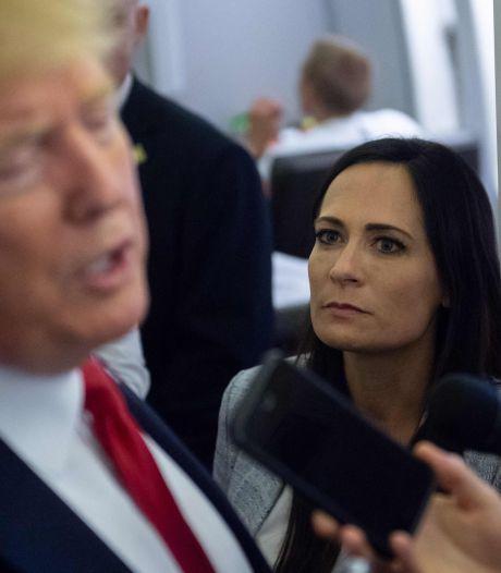 Ex-woordvoerster Witte Huis doet boekje open over 'angstaanjagende driftbuien' van Trump