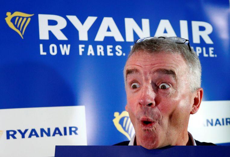 Ryanair-baas Michael O'Leary. Beeld REUTERS
