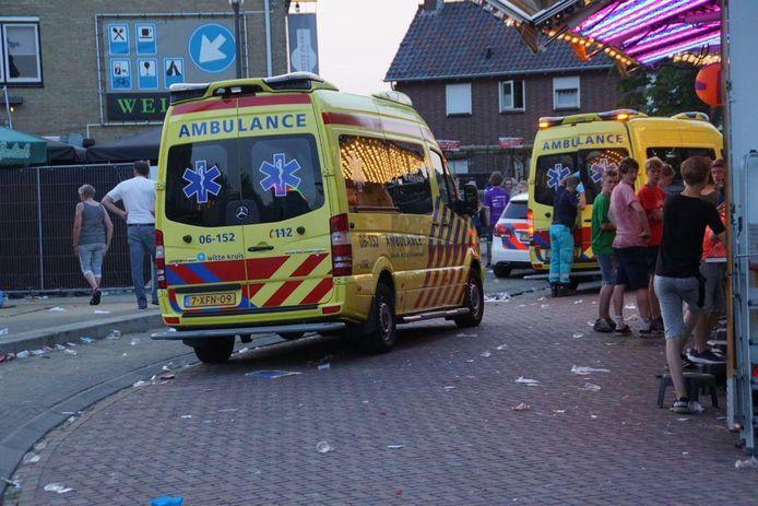Man raakt ernstig gewond bij bedrijfsongeval in Zieuwent.