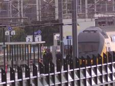 Even geen treinen van Den Bosch naar Utrecht: zwaarbewapende agenten houden mannen aan na melding over vuurwapen