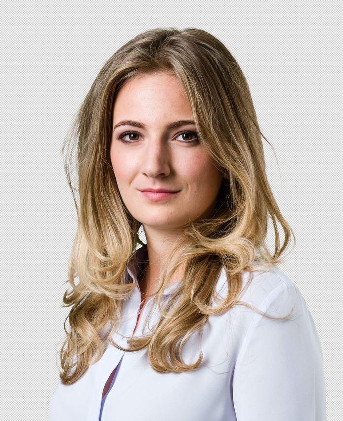 Eline Van Kerckhoven (22), de nieuwe voorzitter van Jong N-VA Duffel.