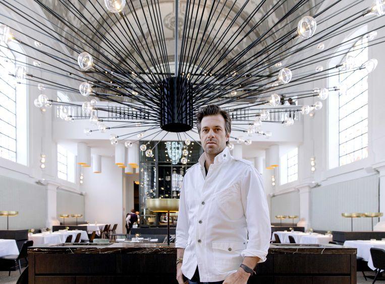 Sergio Herman in zijn restaurant The Jane. Beeld ANP