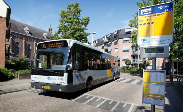 Een bus van Hermes.