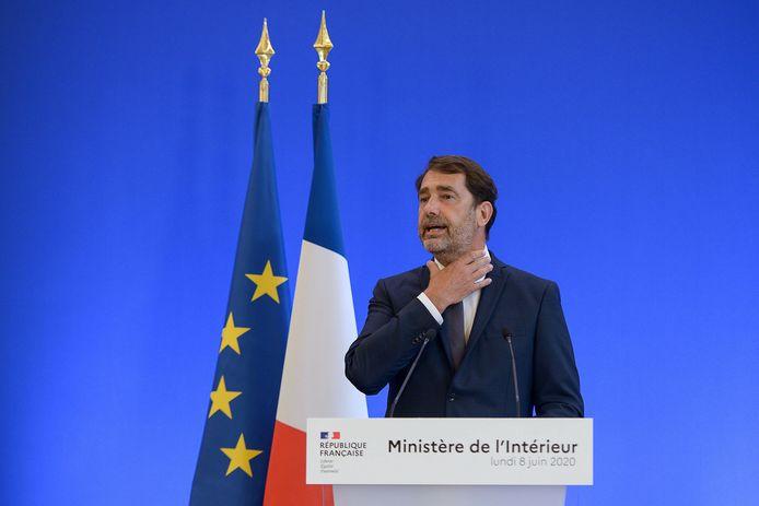 Frans minister van Binnenlandse Zaken Christophe Castaner.