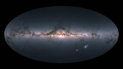 Belgen maken kaart met miljard sterren