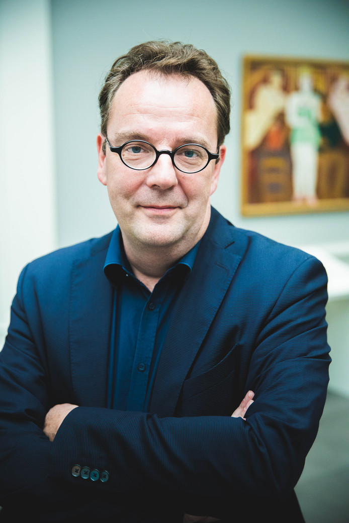 Projectleider Johan De Smet.