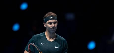 Nadal is gebrand op eerste eindzege in ATP Finals: 'Ik kan van iedereen op elke ondergrond winnen'