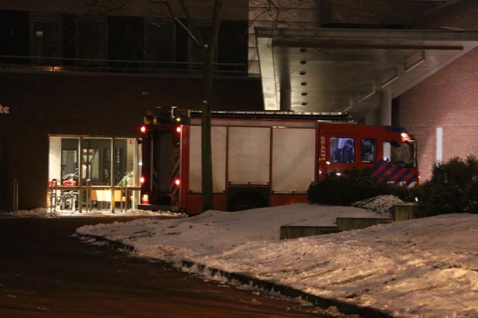 Verzorgingstehuis Liberein in Enschede had flink last van de stroomstoring, langer dan de minuut waarin bij meer dan 26.000 adressen het licht even wegviel.