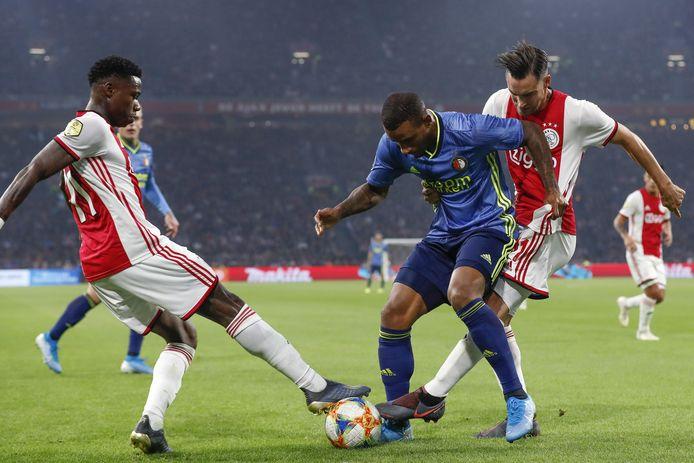 De vorige editie van Ajax - Feyenoord eindigde in een 4-0 zege voor Ajax.