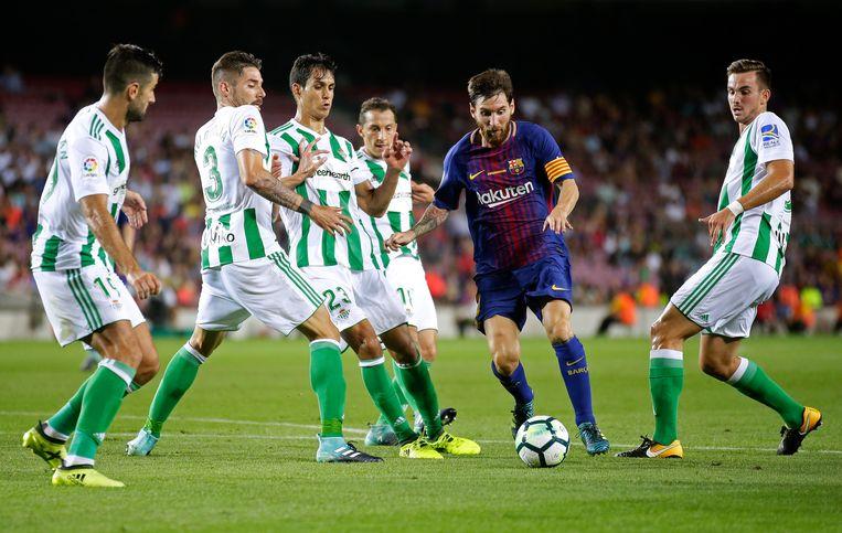 Lionel Messi stond bijna twintig jaar synoniem met de Catalaanse club. Beeld AP