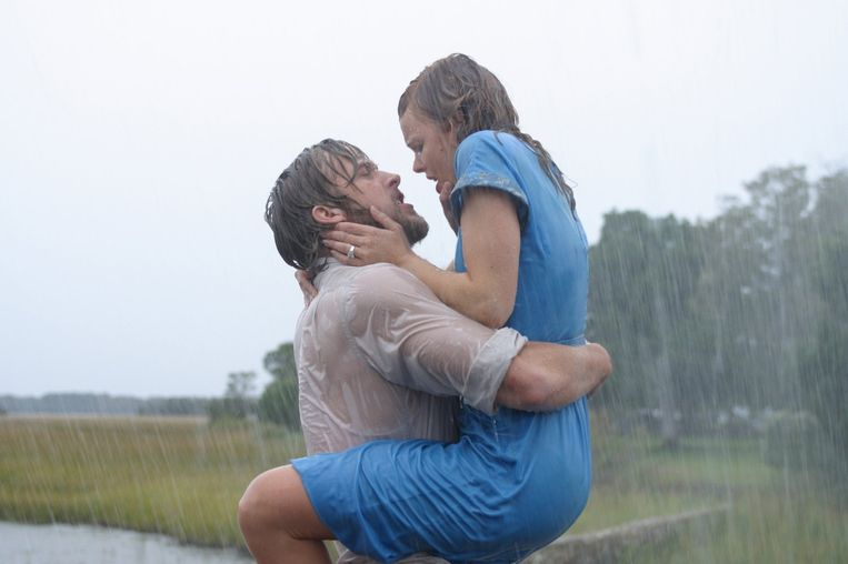 Ryan Gosling en Rachel McAdams in The Notebook van Nick Cassavetes Beeld