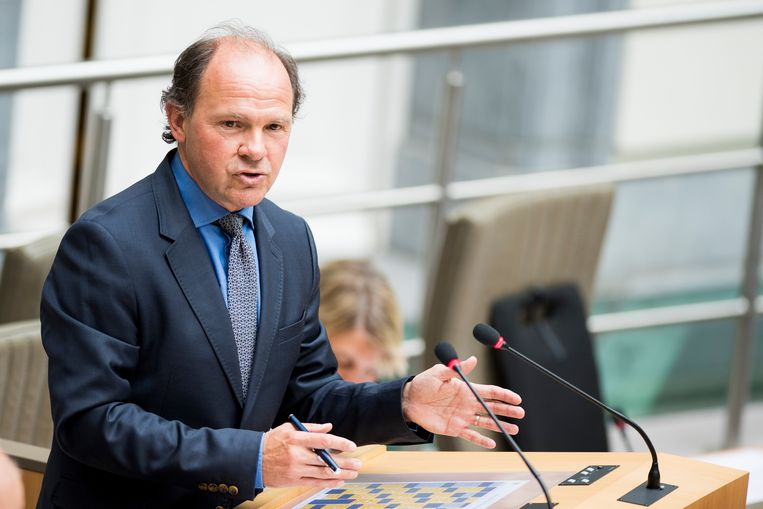 Vlaams minister van Sport Philippe Muyters (N-VA). Beeld BELGA