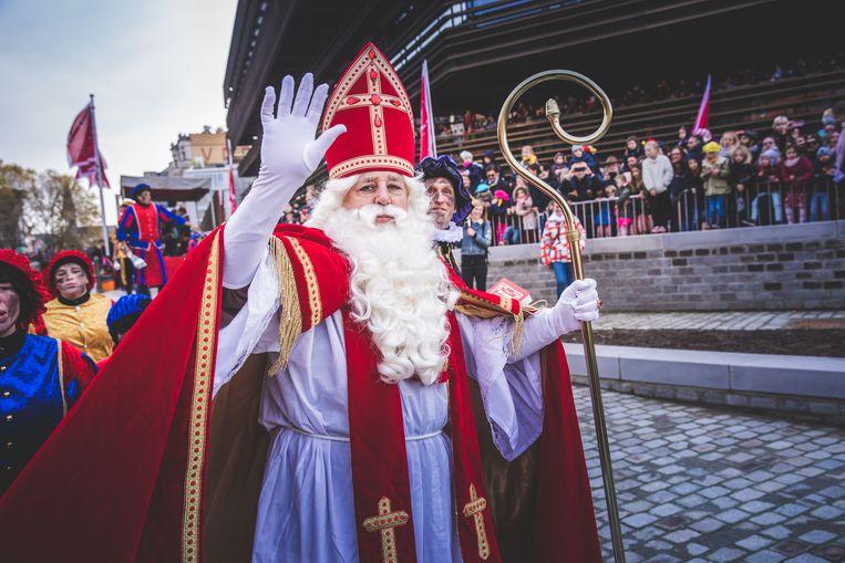 De aankomst van Sinterklaas in Gent in 2019. Beeld Wannes Nimmegeers