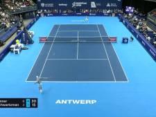 Sinner oppermachtig in finale European Open in Antwerpen
