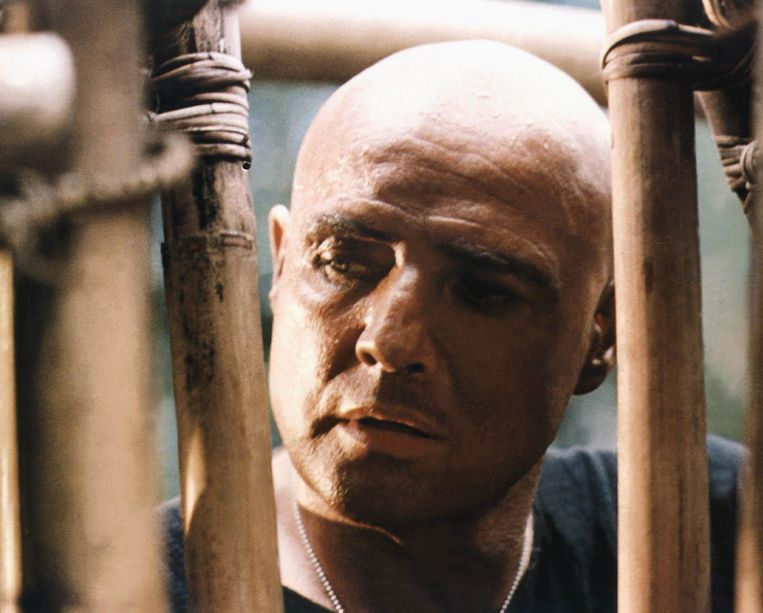 Marlon Brando in Apocalypse Now. Beeld