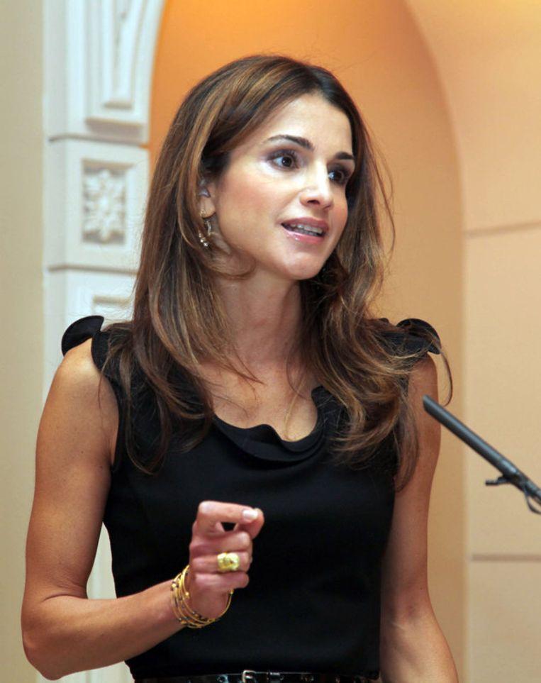 Koningin Rania. Beeld UNKNOWN