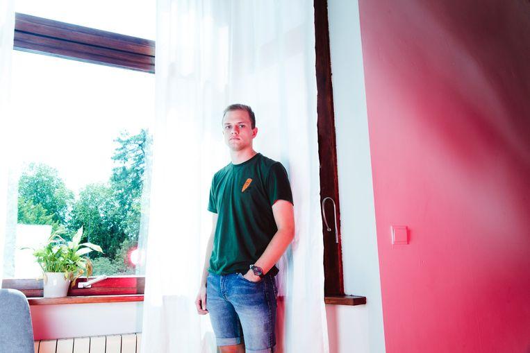 Jerome Callebaut. Beeld Francis Vanhee