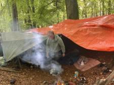 Wildkampeerders betrapt die kampvuur maken op de Duivelsberg