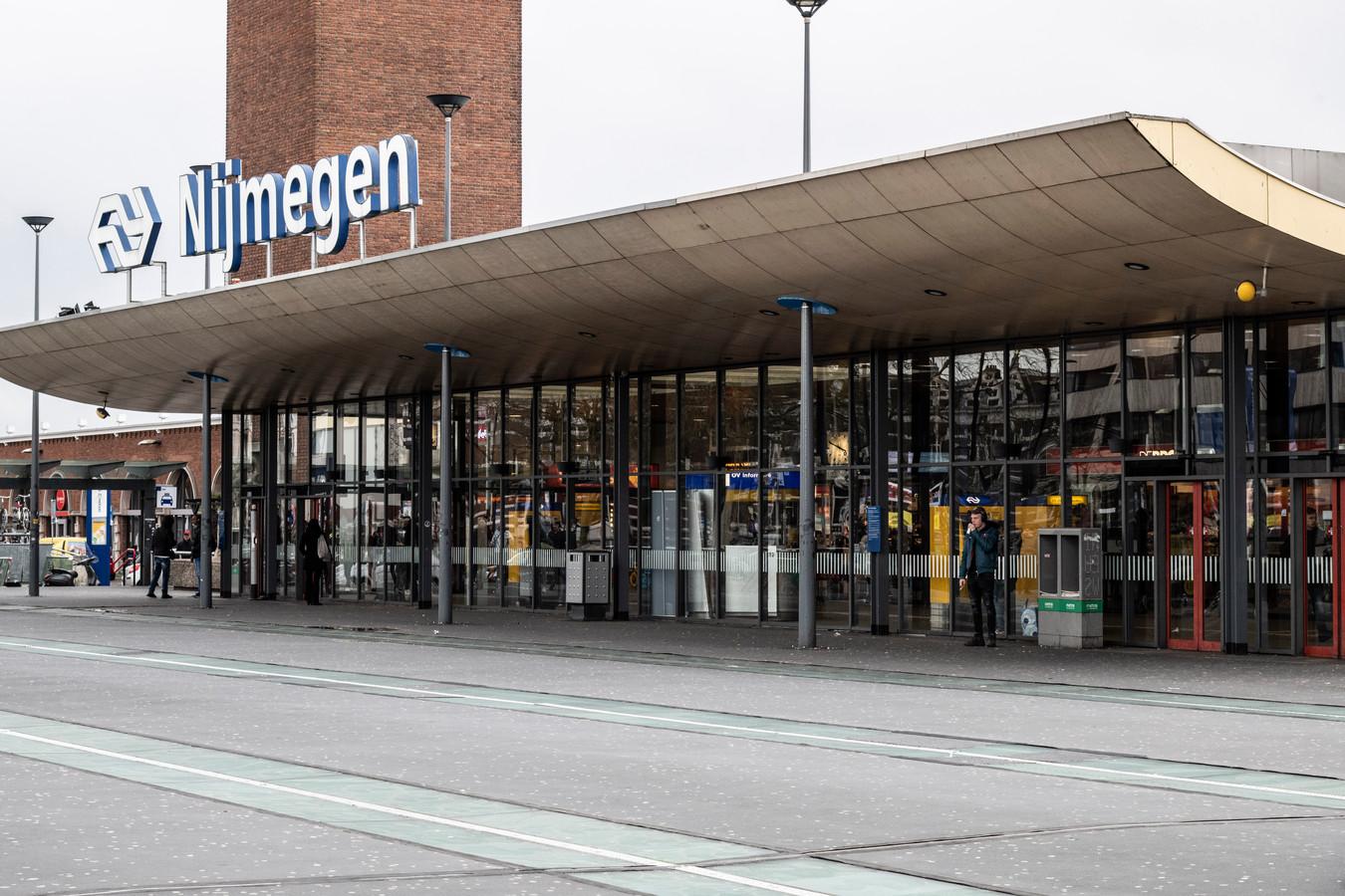 De voorkant van Nijmegen Centraal.