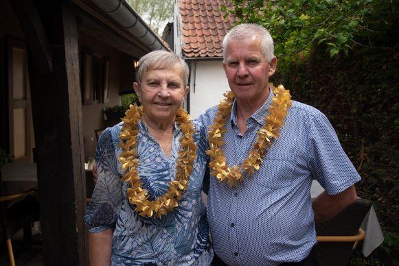 René De Wilde en Jacqueline Bambust vieren hun gouden bruiloft.