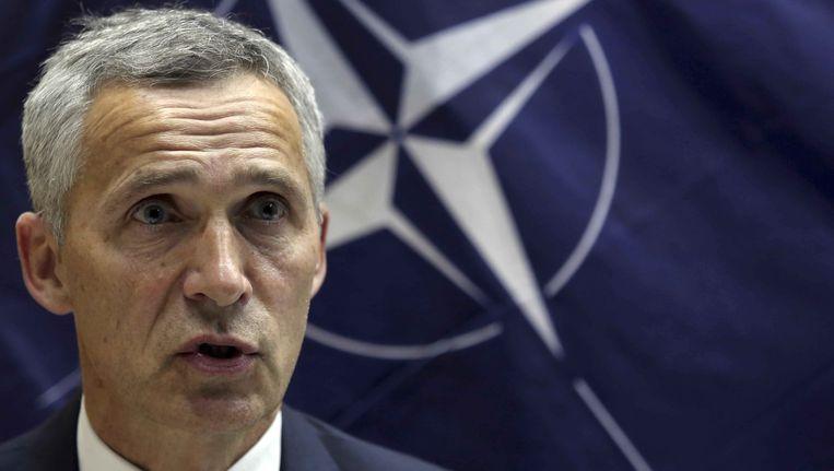 Jens Stoltenberg, secretaris-generaal van de NAVO Beeld ap