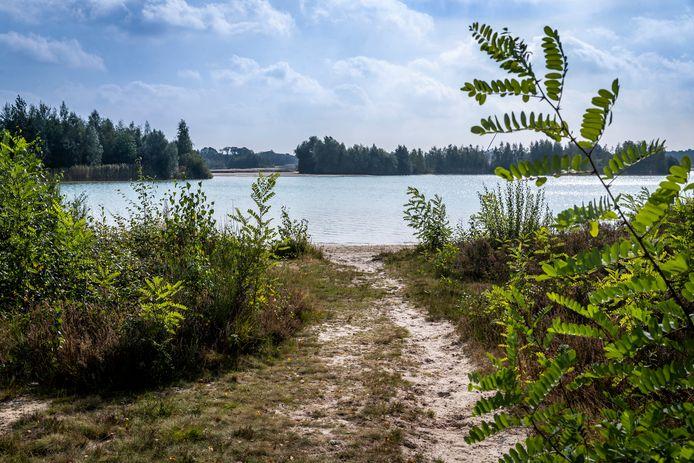 De Bakelse Plassen ten noorden van Bakel en Milheeze.