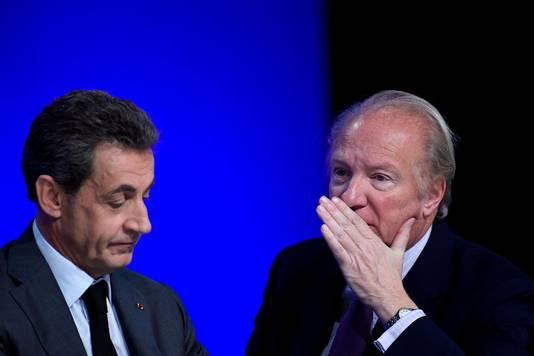 Nicolas Sarkozy et Brice Hortefeux en 2016.