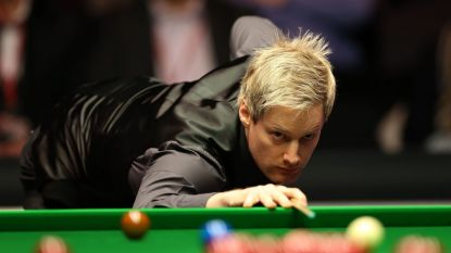 Robertson veegt vloer aan met Bingham op China Open