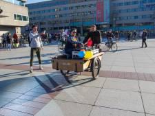 Muziek aan en fietsen maar! Fietsrave trekt door Eindhoven