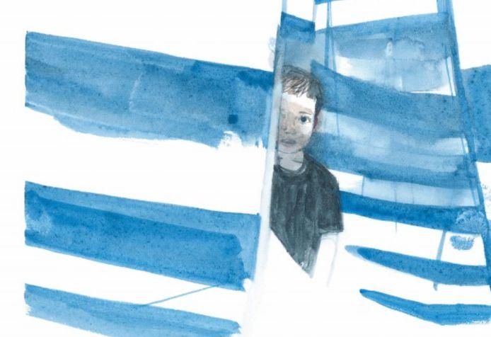 Voorstelling beeldverhaal 'Nooit meer alleen' door Ephameron in De Studio.