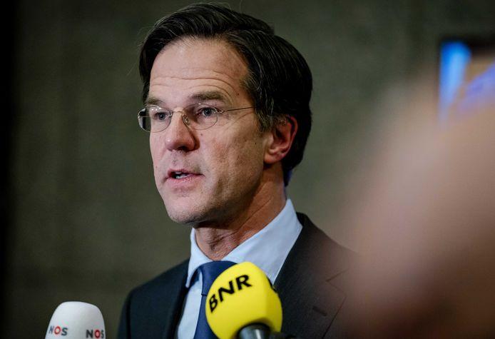VVD-lijsttrekker Mark Rutte