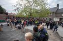 Opening vergroend schoolplein van Salto-school de Klimboom in Eindhoven
