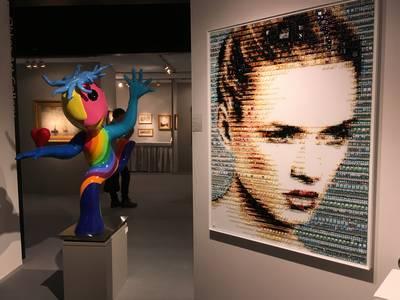 Meer kunst dan kitsch op ART Breda (én een kwartje dat een ton waard is)