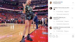 """Instagram-foto van tennisdiva Bouchard lokt scherpe reacties uit: """"Wat zijn dat?"""""""