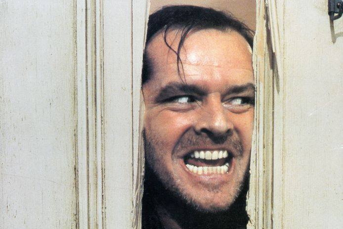 Jack Nicholson in 'The Shining' uit 1980.
