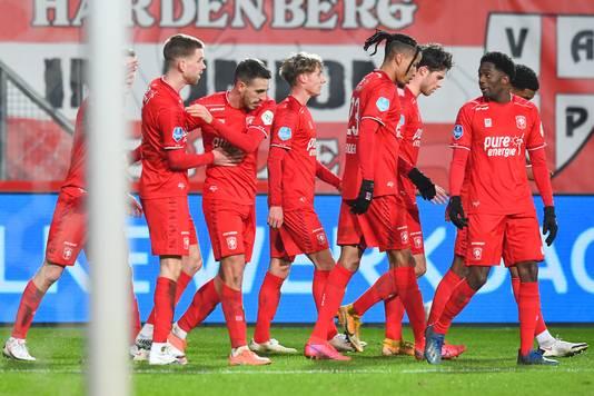 Joel Plezeguelo dacht FC Twente vlak voor tijd een punt te bezorgen.