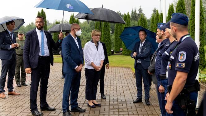 Europese Unie steunt Litouwen in grensconflict met Wit-Rusland