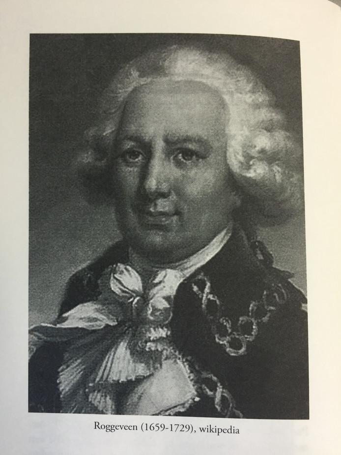 Van Jacob Roggeveen bestaan geen portretten. Op internet worden wel verschillende portretten verbonden aan Roggeveen, zoals dit. Dit portret staat ook in het boek Jacob Roggeveen, Boudewijn Büch en de ontdekking van Paaseiland, van Paul Dentz.
