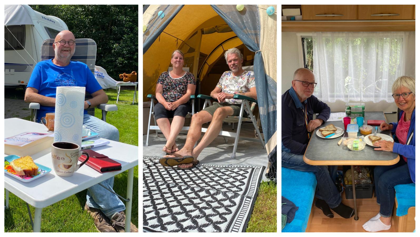 Drie stellen zijn door corona voor het eerst op vakantie in Twente en vertellen daarover.