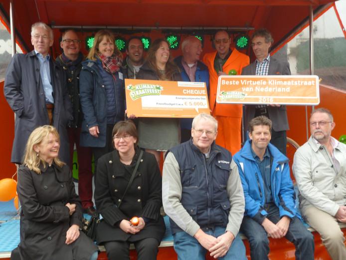 Energiecoöperatie Oss wint 5000 euro bij Klimaatstraatfeest