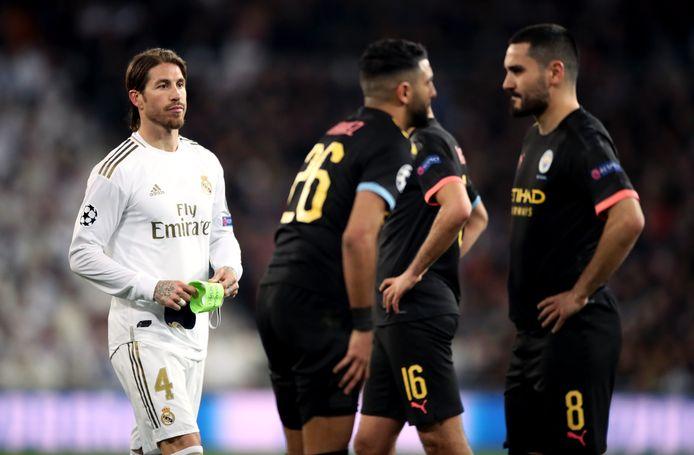 Soirée compliquée pour Sergio Ramos contre City.