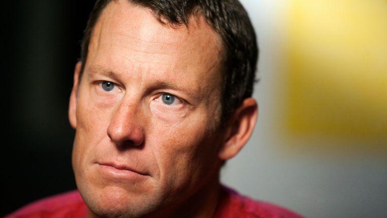 Lance Armstrong Beeld AP