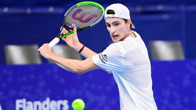 Fransman Ugo Humbert klopt De Minaur in Antwerpen en wint European Open