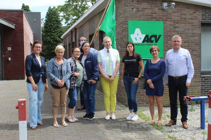 CD&V en ACV gingen donderdagmiddag luisteren naar de grieven van de poetsvrouwen in Assenede.