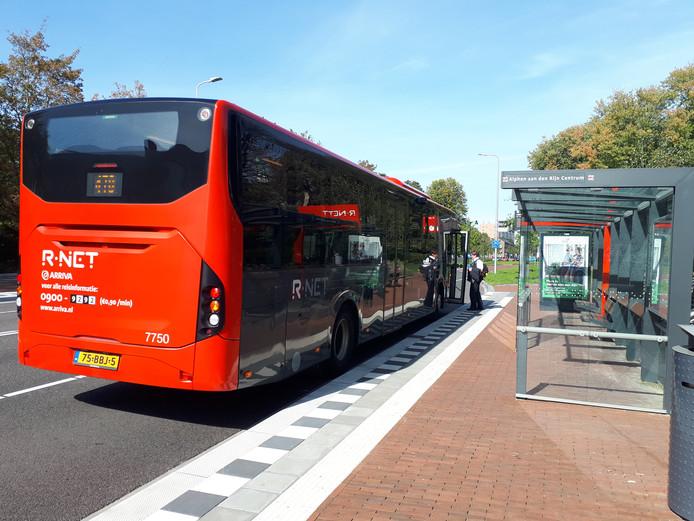 R-Net lijn 470 Alphen-Schiphol.