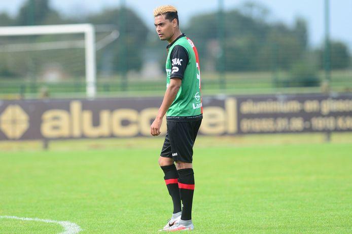 Anas Bouzerda kon zich vinden in het gelijkspel tegen Voorde-Appelterre.